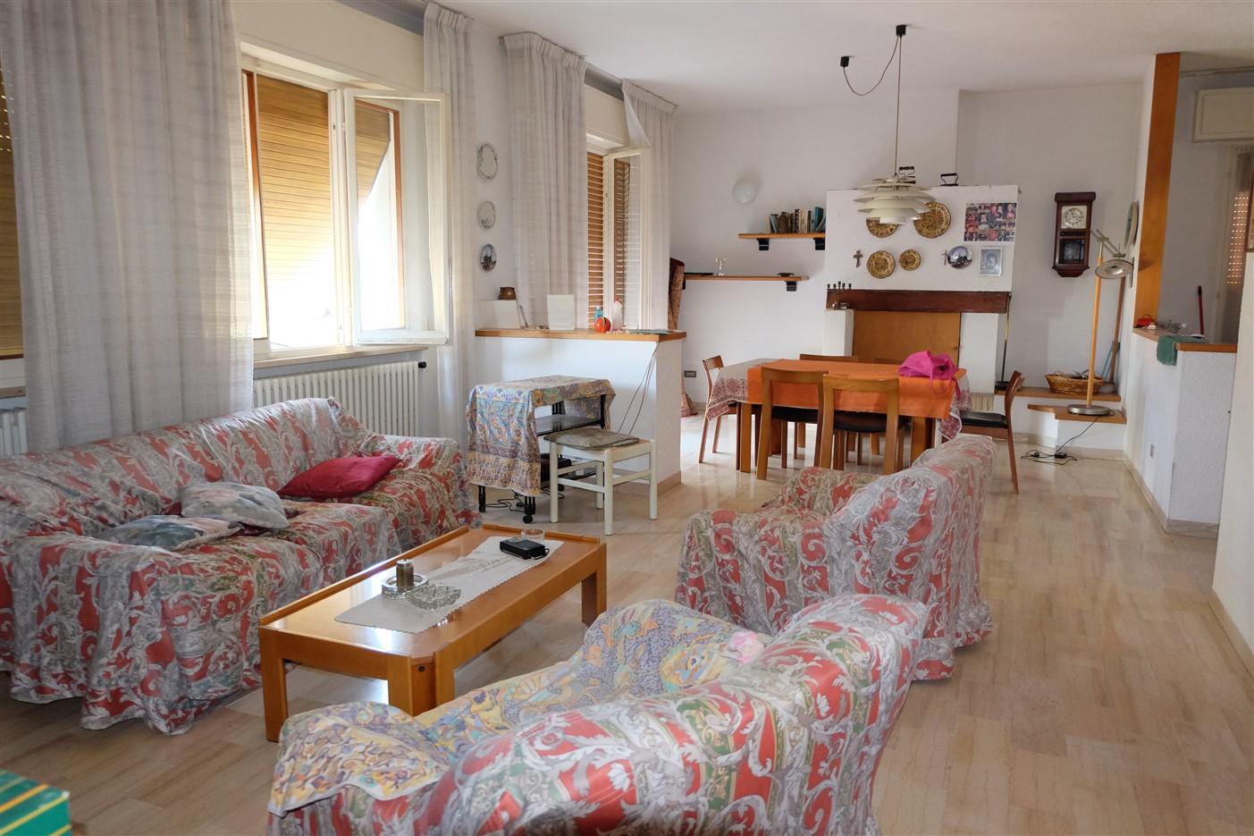 Calcinelli Alta – Appartamento di mq. 180 in bifamiliare